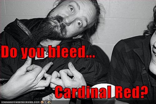 I am Wesleyan (bleed cardinal red)