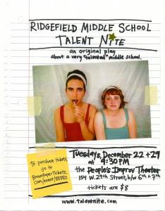 ridgefield pit poster