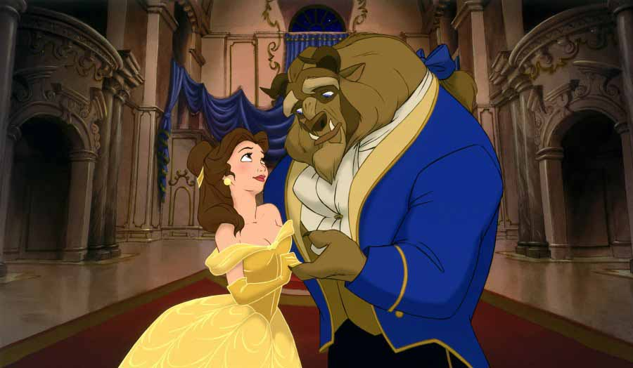 Beauty And The Beast. of Beauty and the Beast!