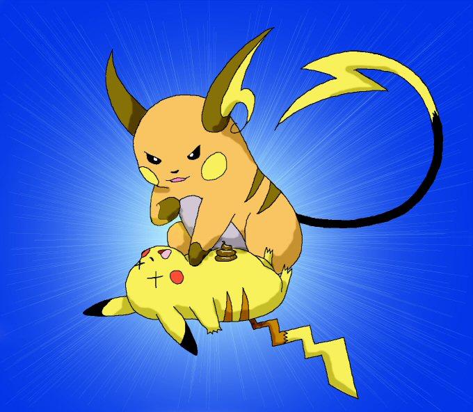 how to draw a pokemon battle scene
