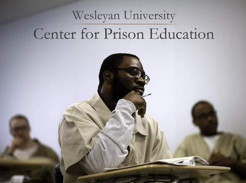 Wesleyan to offer Wesleyan courses and credits to 19 prisoners