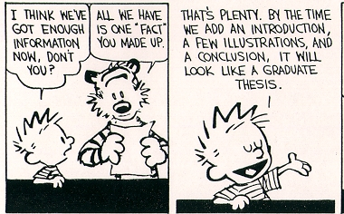 calvin-on-writing-a-thesis