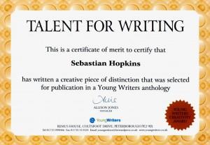 writing-certificate