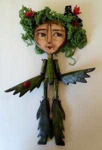 Plant puppet