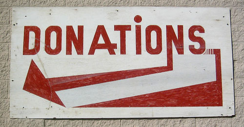 donations-sign