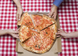 this is a lovely picture of pizza